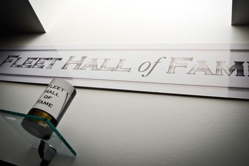 The Fleet Hall of Fame was instituted in 2008. Three new members will be added in 2020.