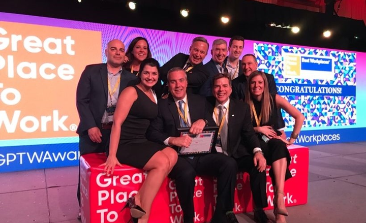 """The fleet management company was honored again as one of the """"Best Workplaces in Canada"""" by Great Place to Work. Overall, it ranked at No. 18 in the 1,000-plus employees category, marking the third consecutive year ARI has been named to the Canadian list.  - Photo courtesy of ARI."""