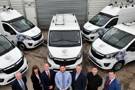 Vauxhall Provides UK Housing Fleet with 290 Vans