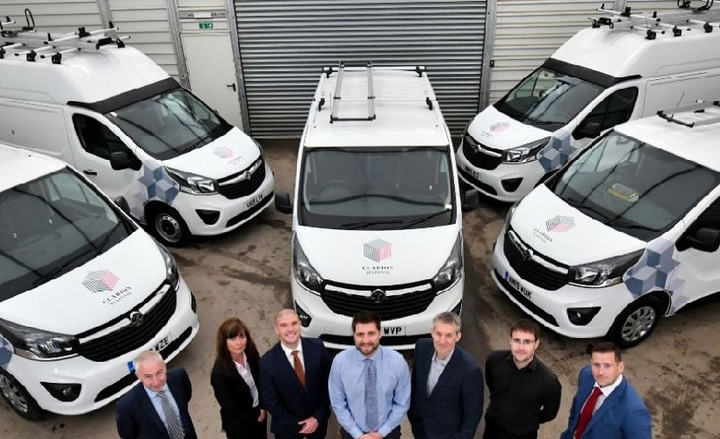 Clarion Housing Group will use Combo Cargo and British-built Vivaro models as mobile workshops for maintenance engineers around the UK.
