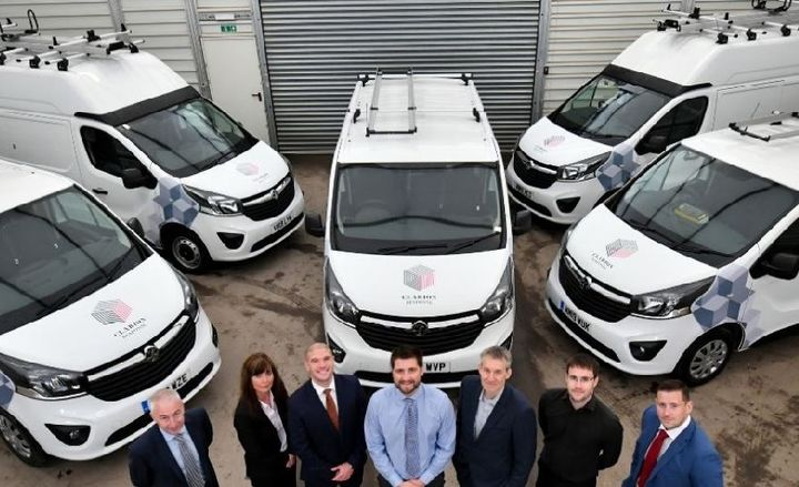 Clarion Housing Group will use Combo Cargo and British-built Vivaro models as mobile workshops for maintenance engineers around the UK.  - Photo courtesy of Vauxhall.