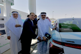 Saudi Arabia Unveils Hydrogen Fueling Station Developments