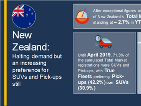 New Zealand Vehicle Registrations Down