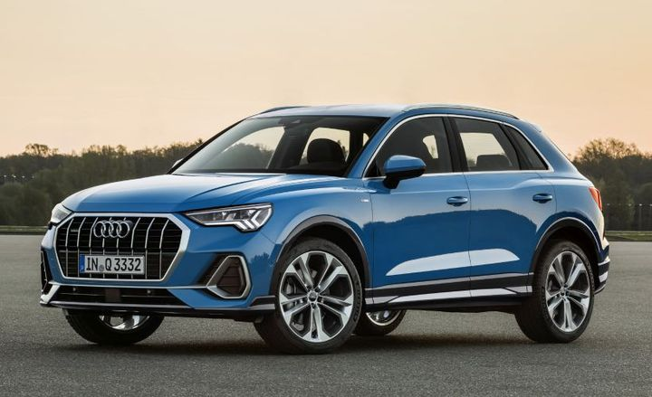 The 2019 Audi Q3 enters its second generation with sportier styling and upgraded driver-assisting technology.