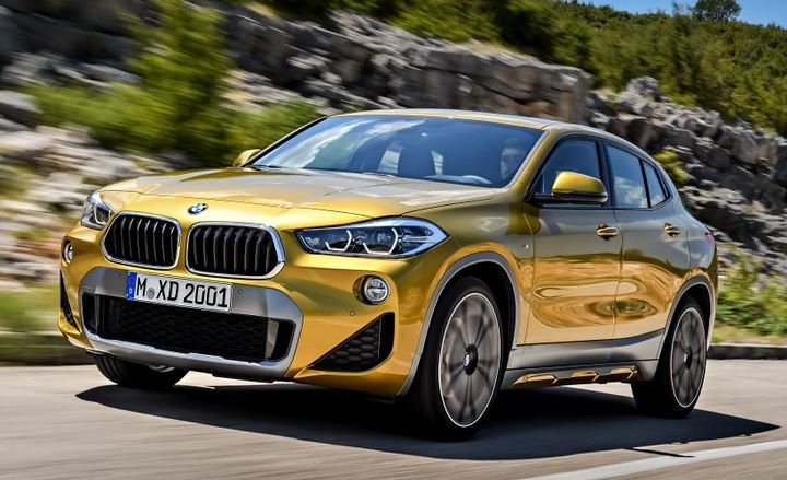 The 2018 BMW X2 missed an award from the IIHS due to its head restraint system.