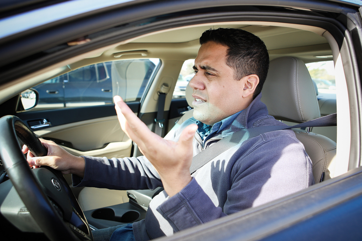 According to a new survey, 74% of women and 69% of men say they use passive, rather than aggressive, driving.