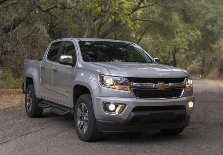 General Motors increased fleet sales in the second quarter due partly to strong sales of its Chevrolet Colorado midsize pickup.
