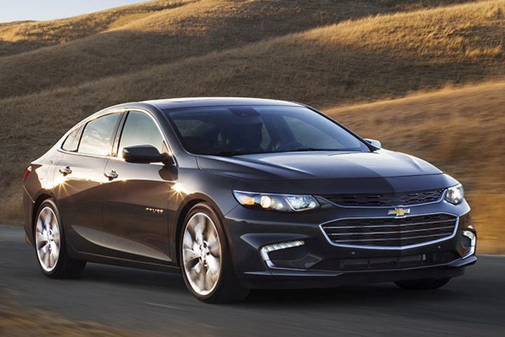 GM is recalling the 2016 to 2018 Chevrolet Malibu sedan for a possible air-bag malfunction.  - Photo courtesy of GM.