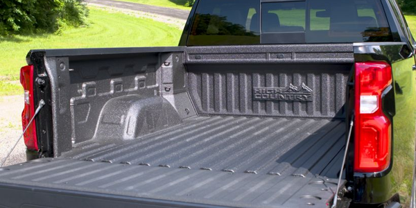 The 2019 Chevrolet Silverado will include a bed with increased cargo volume that's made from...