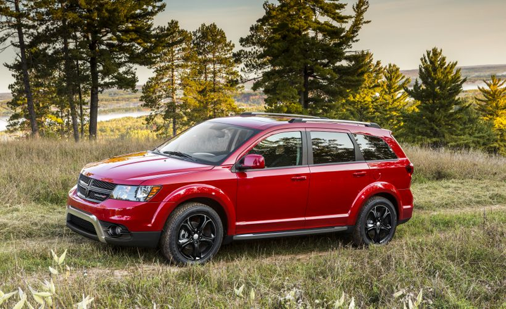 FCA has recalled the 2018 Dodge Journey for a possible rear visibility defect.  - Photo courtesy of FCA.