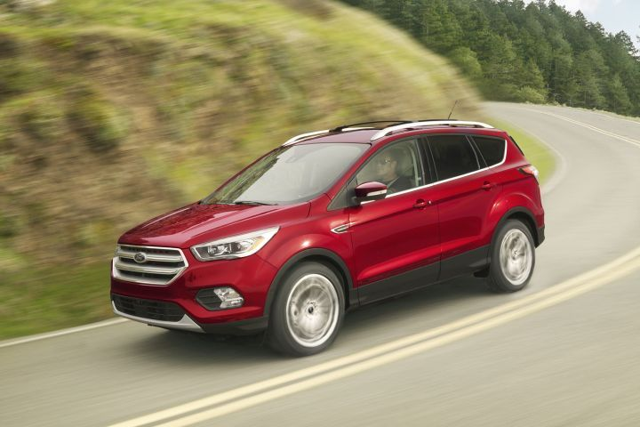 Ford is betting on the continuing popularity of utility vehicles over passenger cars, including its Escape compact SUV (pictured) that sold more than 308,000 units in 2017.