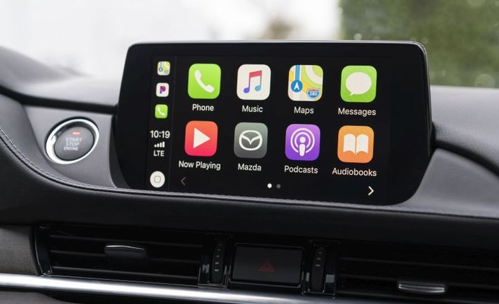 Mazda will offer Apply CarPlay as a dealer-added feature.