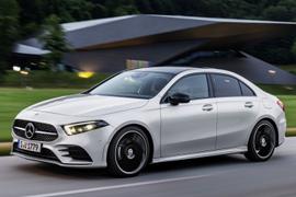 Mercedes-Benz Debuts New A-Class Entry Sedan