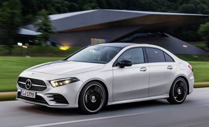 mercedes benz debuts new a class entry sedan vehicle