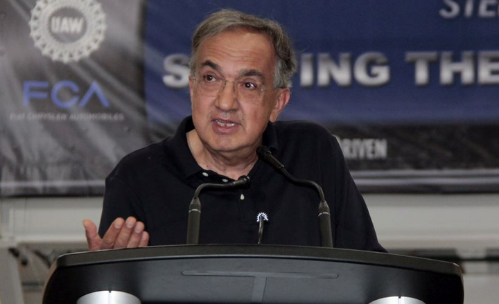Sergio Marchionne led Fiat Chrysler out of bankruptcy. He died on July 25.  - Photo courtesy of FCA.
