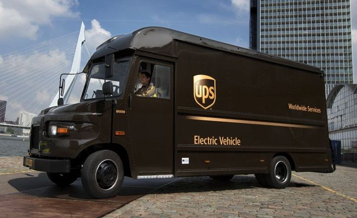 UPS reduced its accident rate by 1% in 2017.