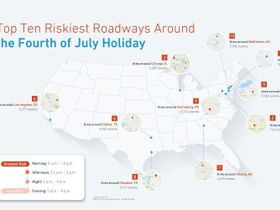Newark: Riskiest Driving City Over Fourth of July