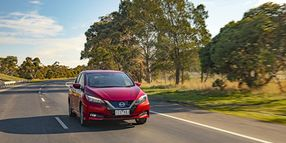 Updated Nissan Leaf Available in Australia