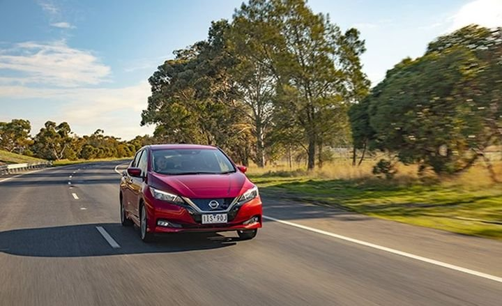 The EV, which is currently available outside of Australia, is available with a 40kWh battery that offers 147 hp and 236 ft.-lb. of torque, according to a release from Nissan. The new Nissan Leaf is available at 89 dealers nationally.