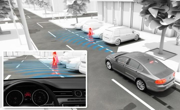 Volkswagen designed its Pedestrian Monitoring technology as part of its Front Assist system to aid drivers in their ability to stay aware of those on foot, so everyone can safely share the road. - Photo courtesy of Volkswagen.