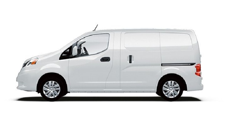 Nissan will offer the NV200 Cargo in two models: the S and SV. The SV will retail for $24,085.  - Photo courtesy of Nissan.
