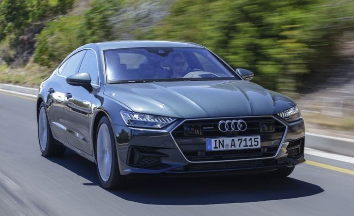Audi's 2019 A7 enters its second generation with new available driver assisting technology and reworked headlights.  - Photo courtesy of Audi.