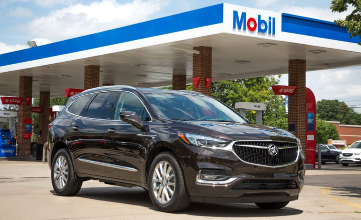 Drivers of eligible Buick vehicles will now be able to make fuel payments from the dashboard at ExxonMobil stations.  - Photo courtesy of GM.