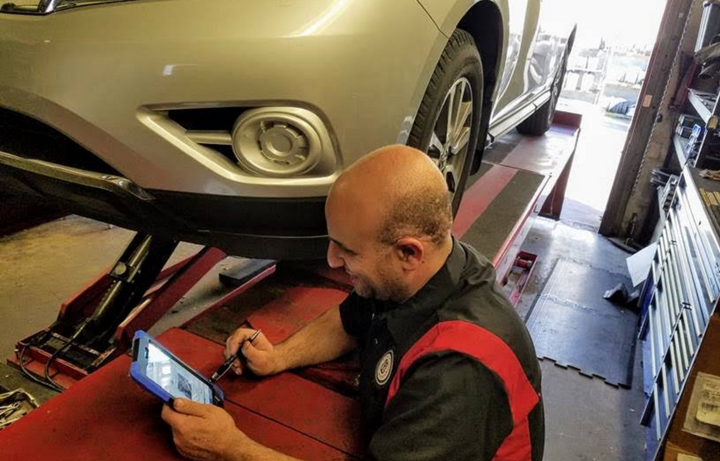 Driveroo is an auto care platform that provides predictive analysis of potential maintenance issues for vehicles, based on the type of car and its specific history.