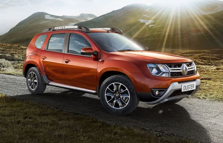 The Renault Duster includes hill descent control, multiview camera and blind spot warning, 4x4 monitor, automatic air conditioning, and more. - Photo courtesy of Renault.