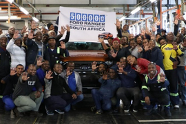 Ford Produces 500K Rangers in South Africa