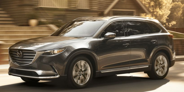 The 2019 CX-9 adds Apple CarPlay and Android Auto on most trim grades.