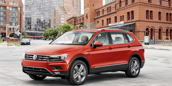 Volkswagen is recalling its 2018 Tiguan for a defect involving an LED module.