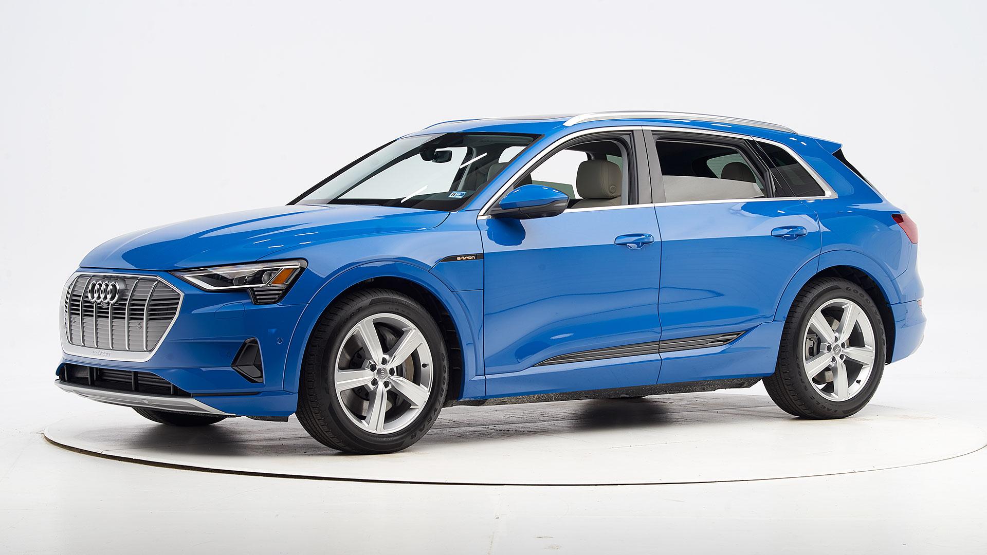 Audi e-tron Captures Top Safety Pick+ Award