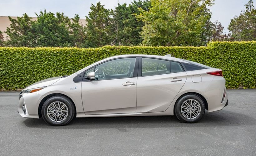Toyota Motor Engineering & Manufacturing is recalling an estimated 6,925  Lexus and Toyota vehicles, including the new Prius Prime, because the brake booster pump may fail.  - Photo of the 2020 Toyota Prius Prime by Kelly Bracken.