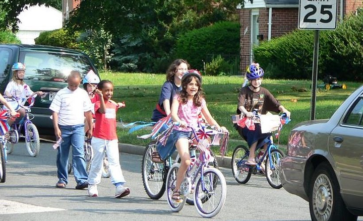 The total number of pedestrian deaths in 2017 was 5,977, with 5- to 9-year-olds experiencing 47 deaths.  - Some Community Kids Riding Their Bikes in the parade courtesy of Flickr – Scott Miller