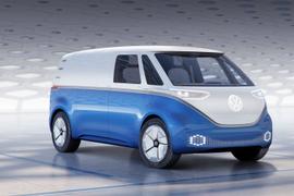 Volkswagen Shows Autonomous Electric Cargo Van Concept