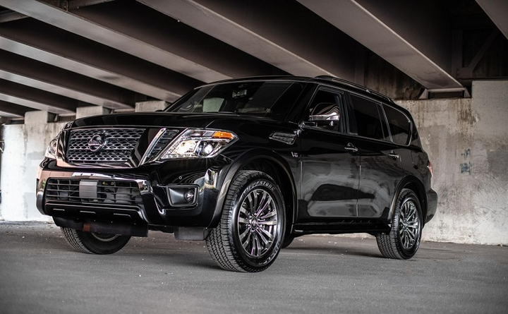 The Armada now features as standard for all models rear door alert, intelligent cruise control, automatic emergency braking, and intelligent forward collision warning, the automaker has announced.