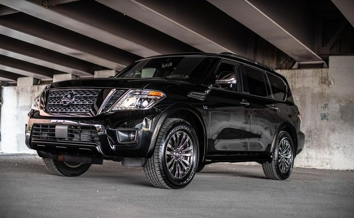 The Armada now features as standard for all models rear door alert, intelligent cruise control, automatic emergency braking, and intelligent forward collision warning, the automaker has announced.  - Photo courtesy of Nissan.