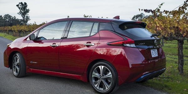 The 2019 Leaf features a 150-mile driving range and advanced technologies including ProPILOT...