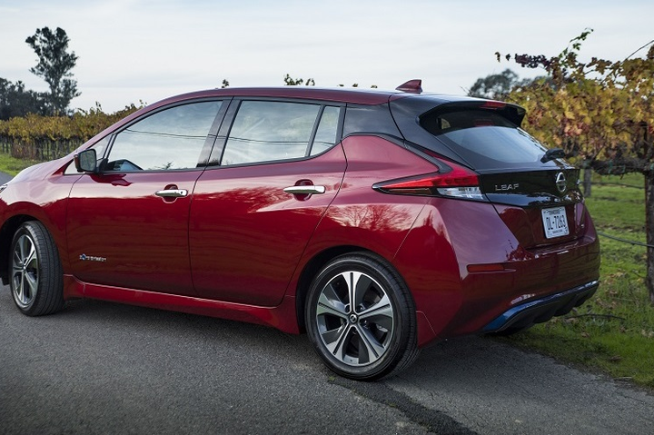 The 2019 Leaf features a 150-mile driving range and advanced technologies including ProPILOT Assist and e-Pedal. A longer-range version of the Leaf will be available in the future.