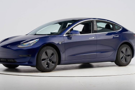 Tesla Model 3 Captures Top Safety Pick+ Award