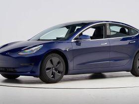 Tesla Model 3 Captures Top Safety Pick+ Award