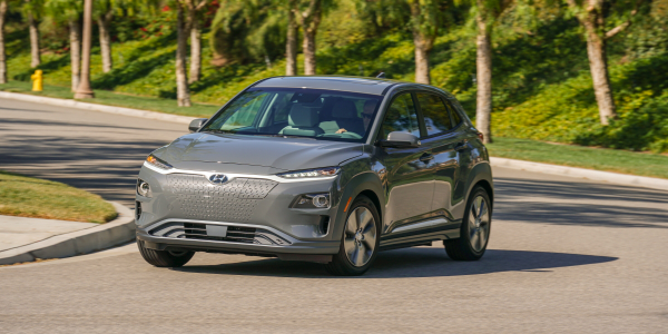 The EPA estimates that the 2020-MY Kona Electric will net an MPGe of 132 city / 108 highway, and...