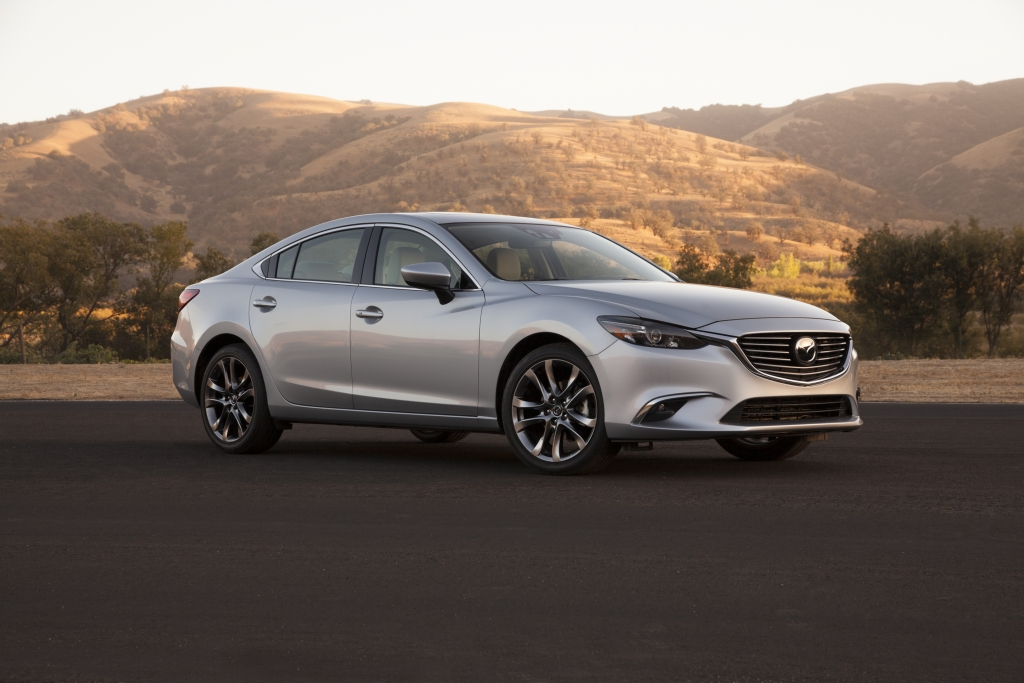 Mazda6 Recalled for Power Steering, Air Bags
