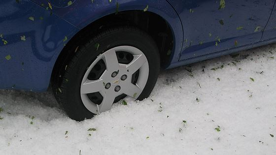 Hail Damage Claims for Vehicles Spiking
