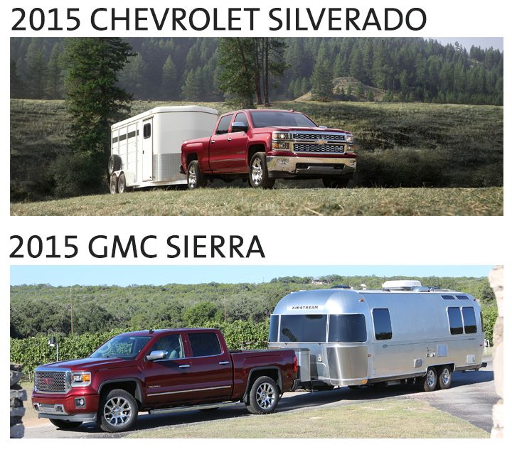 2015 Silverado and Sierra 1500 Tow Ratings Announced