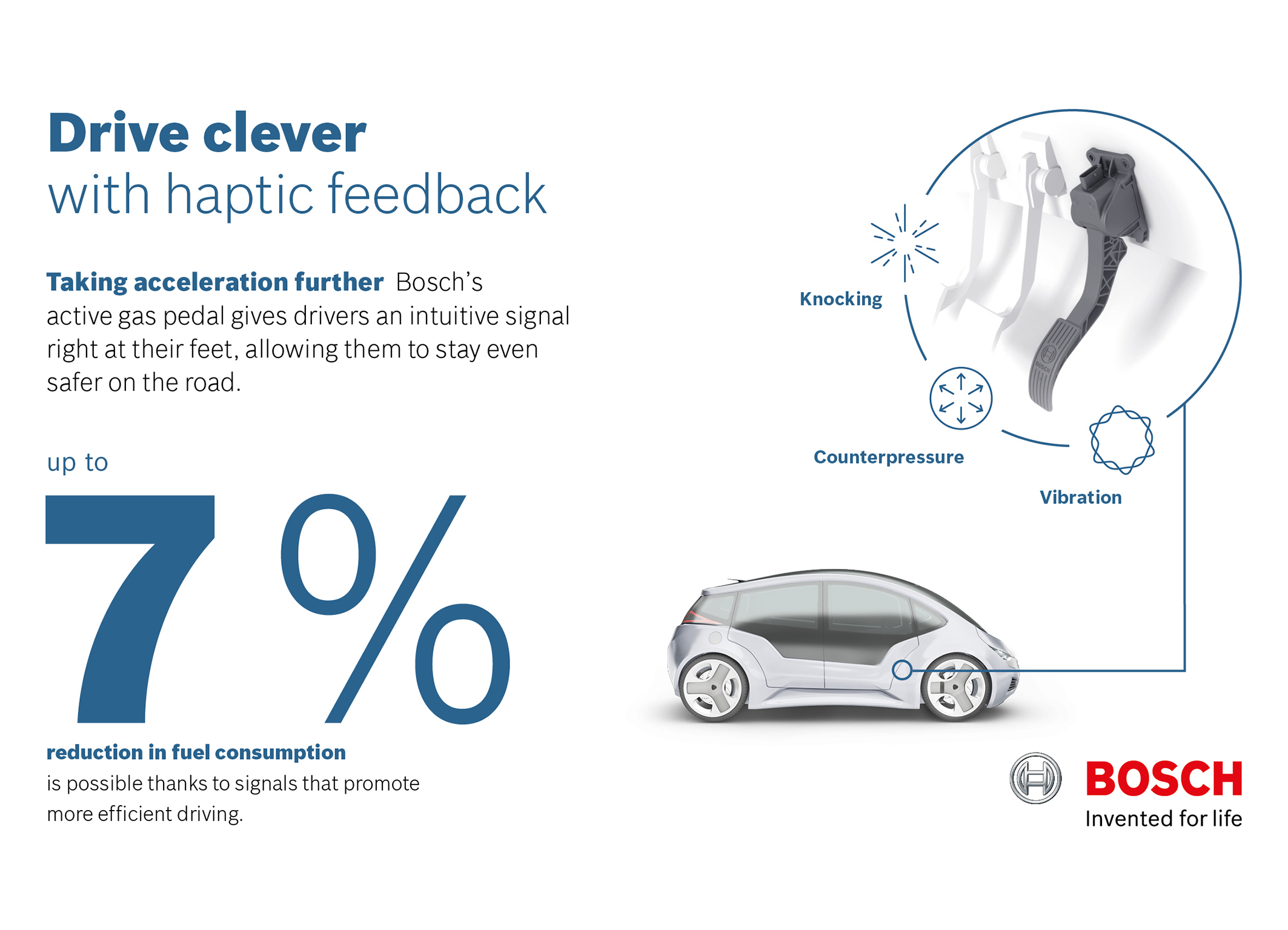 Bosch's Smart Gas Pedal Lowers Fuel Consumption