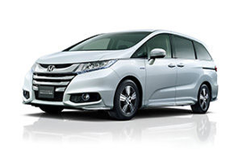 Honda Shows Two-Motor Hybrid System in Minivan