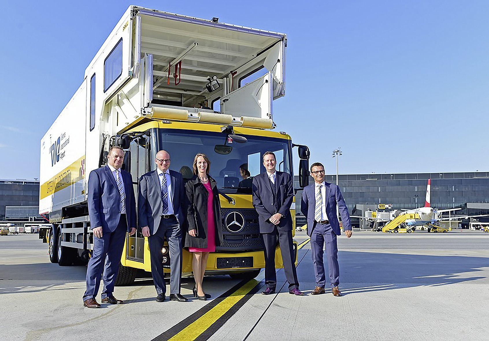 Natural Gas Unimog Delivered to Vienna International Airport
