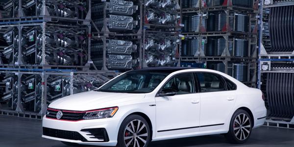 Photo of the 2018 Volkswagen Passat Gt courtesy of VW.